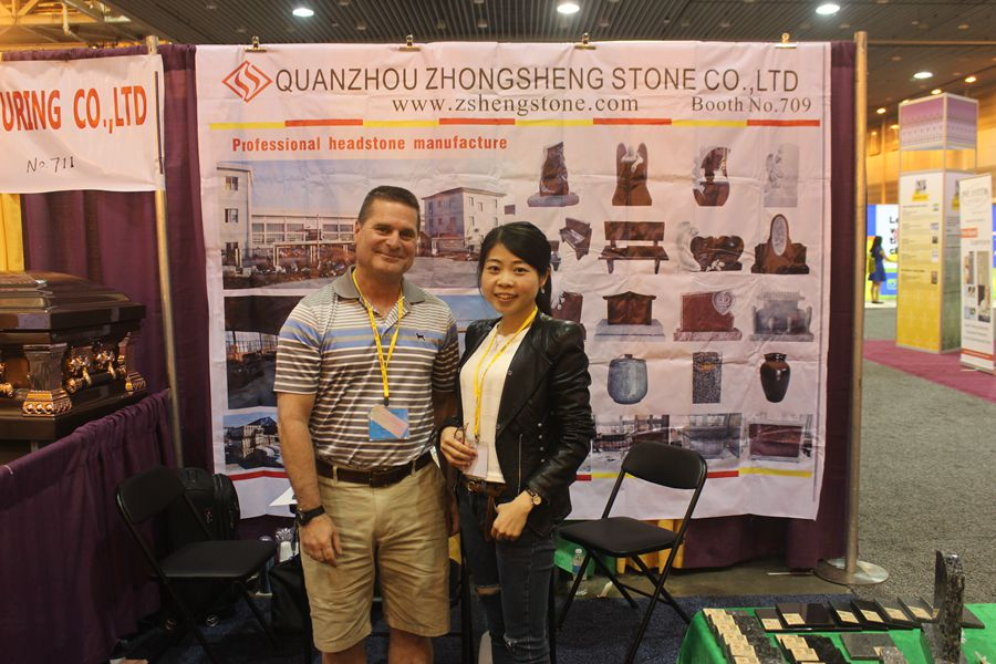 Zhongsheng Stone Attend 2016 Monument Exhibition in USA