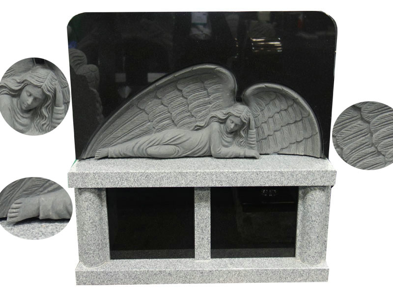 Angel Memorial Benches