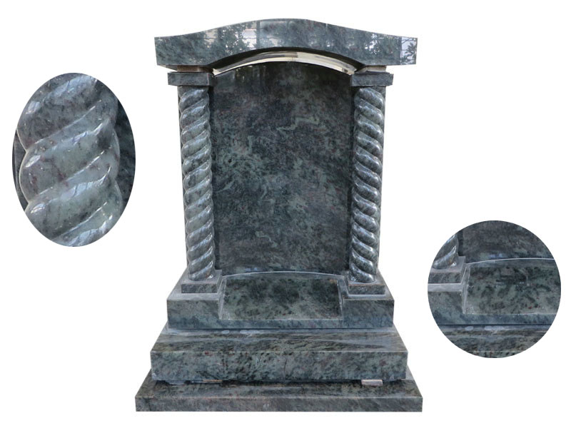 Green Granite Headstones
