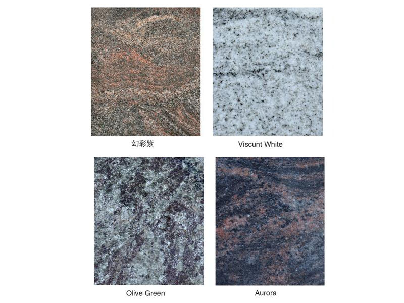 Granite Color Choices For Memorial And Building Decoration