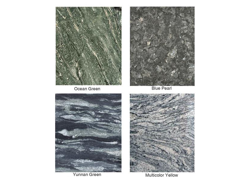 Granite Colors Names For Cemetery And Garden Carving