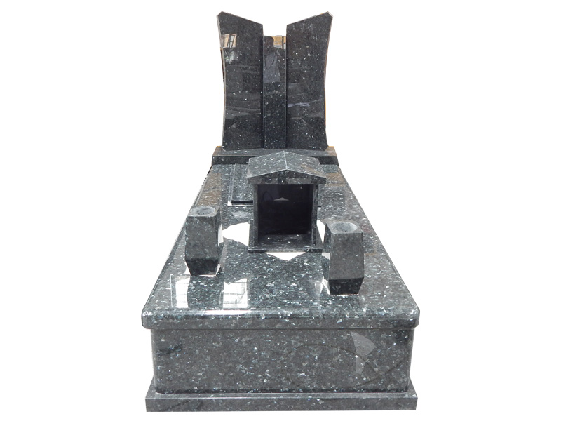Blue Pearl Granite Headstones