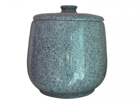 Simple Grey Granite Cremation Urn Box