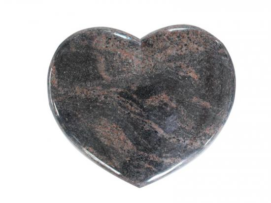 Granite Memorial Hearts For Graves